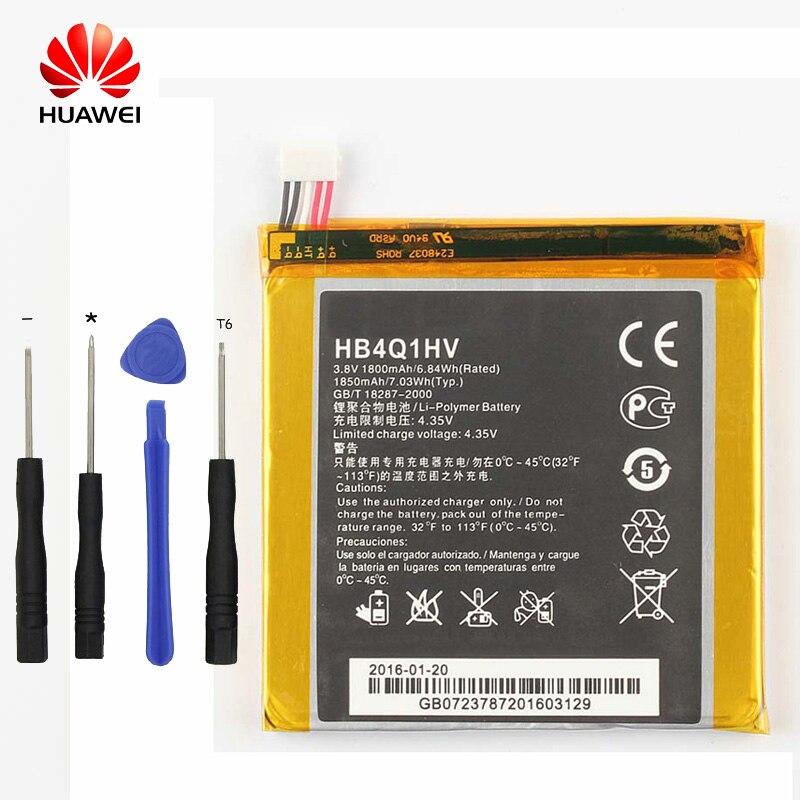 Original Huawei HB4Q1HV Lithium-ionen-akku Für Huawei U9200 U9500 T9200 Ascend P1 D1 1800 mah