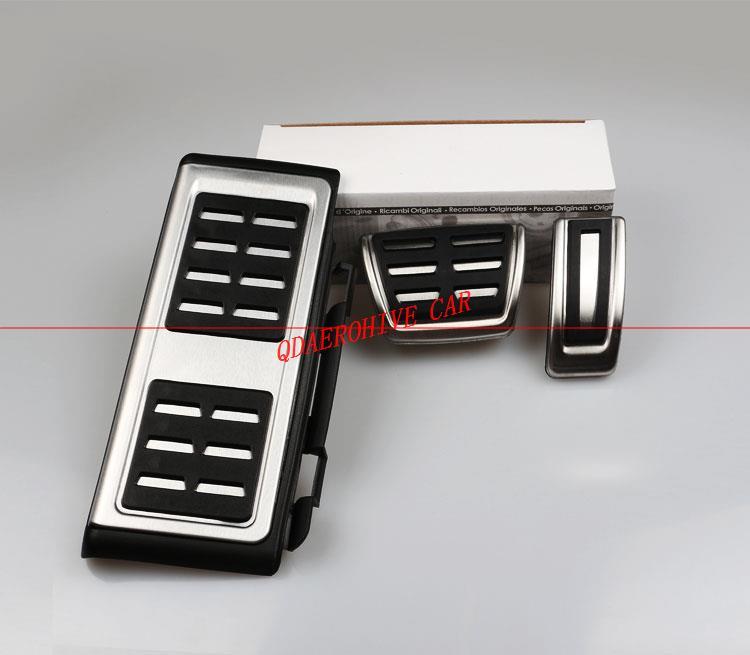 QDAEROHIVE coche aluminio pedales de freno Pedal pedales de embrague para AUDI S4 RS4 A5 S5 RS5 8 T A6 4G S6 (C7) q5 S5 RS5 A7 S7 SQ5 8R