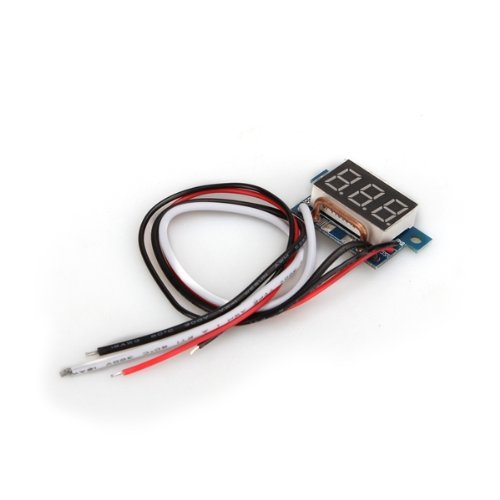 MYLB- Digital <font><b>LED</b></font> Ammeter <font><b>AMP</b></font> Panel Power Indicator Ammeter DC0-10A Red