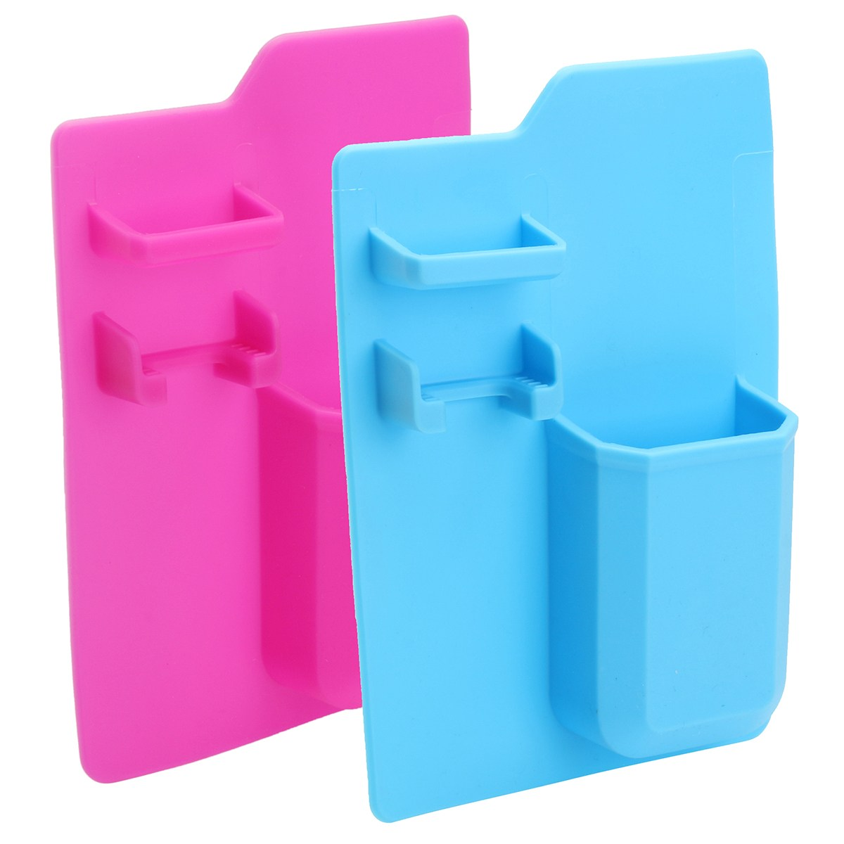 Silicone Mighty Toothbrush Holder Wall Mounted Stand Shaver Storage ...