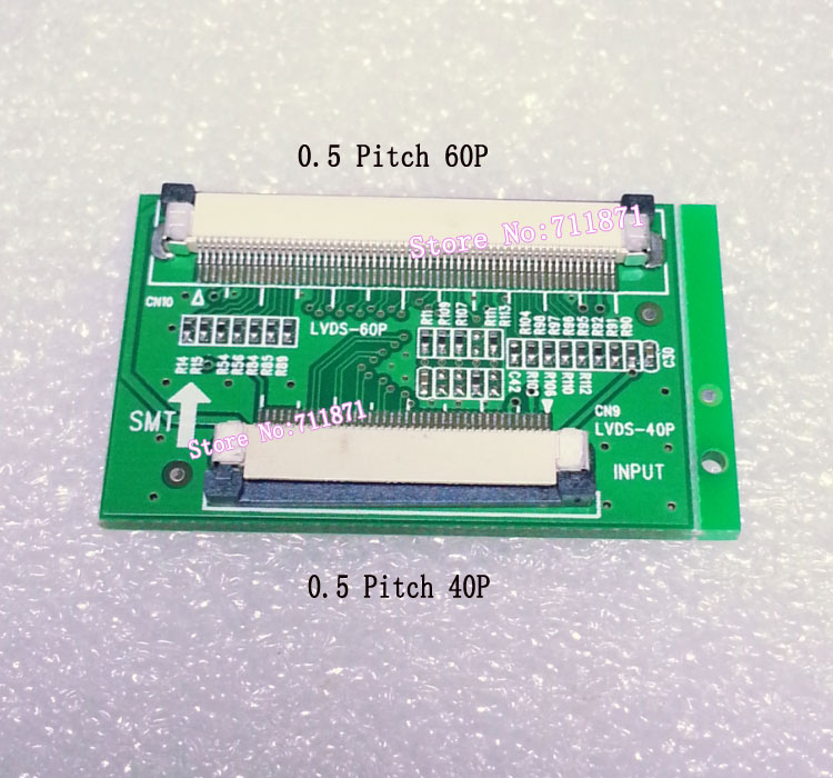 40 60 Pin Ffc Adapter 0 5 Pitch 40p To 60p Ffc Lvds