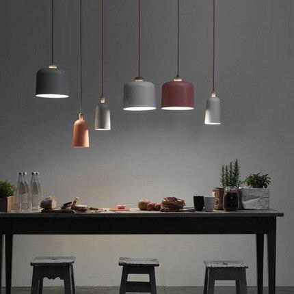 Oranje/licht grijs/Wit Keuken/eettafel schorsing verlichting ...