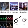 2017 Newest Ultra-Bright 1M SMD 3528 60 leds/m Waterproof  Flexible Tape USB Strip Light DC 5V Low Power Consumption Light