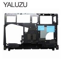 Новый нижний чехол YALUZU для Lenovo Ideapad Y400 Y410P Y410 Y430P, Нижний Базовый чехол для ноутбука, черный нижний чехол AP0RQ00070, черный