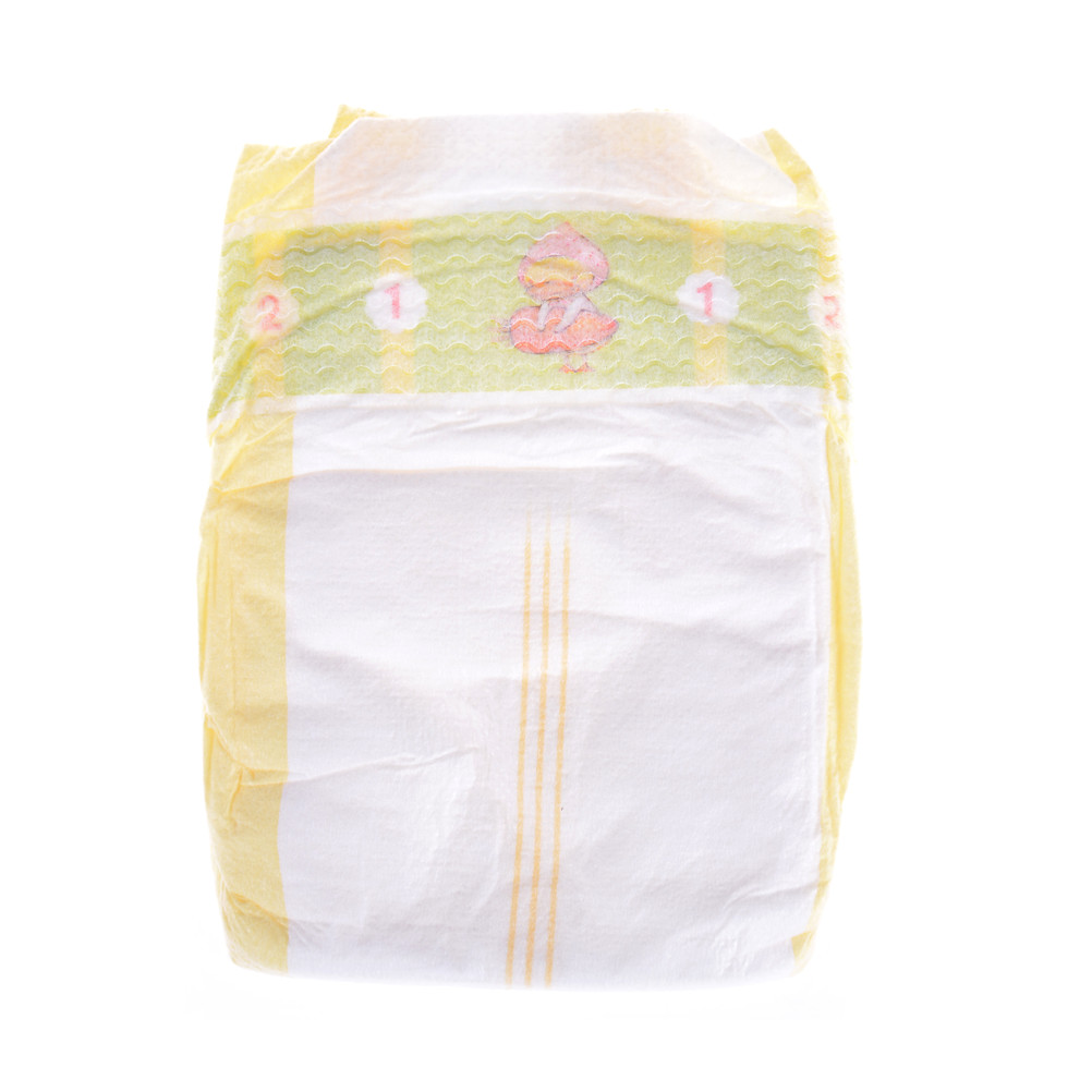 New Disposable Soft Tiny Cute Newborn Diapers White Thin Section Diapers Wear Fit 43cm   Children Gift For  Dolls