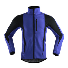 Windproof Cycling Jersey Waterproof Thermal Cycling Jacket Men Sports Coat MTB Bike Winter Warm Up Bicycle Clothing 6 Colors