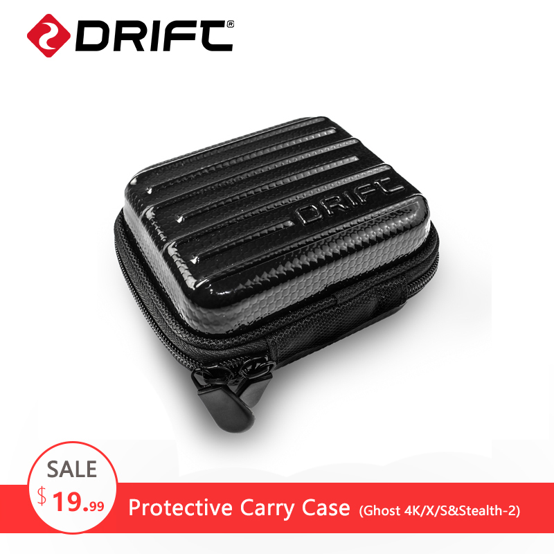 DRIFT Action Sports Camera Accessories Protective Storage Travelling Bag Carry Case for Ghost-4K/S Stealth gopro yi xiaomi cam