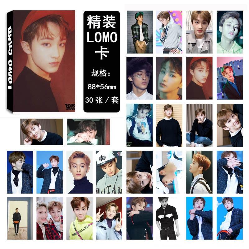 30Pcs/set K-POP NCT 127 Mark Photocard Good Quality K-pop NCT DREAM Single HD Lomo Cards NCT127 Fashion New Arrivals