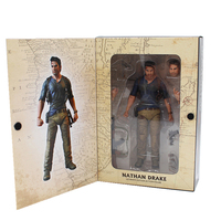 18cm NECA Uncharted 4 A thief's end NATHAN DRAKE Ultimate Edition PVC Toys Action Figure Collectible Model Toy Gift