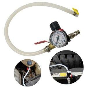 Image 2 - Water Tank Leak Detector Car Cooling Radiator Pressure Tester Water Tank Detector Checker Tool Suitable for Universal Cars