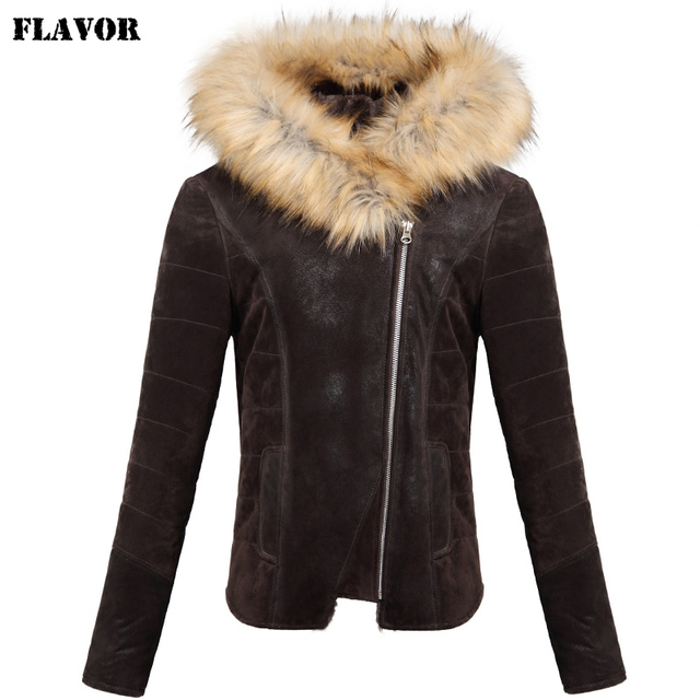 Aliexpress.com : Buy Women's Pigskin real leather jacket ...
