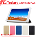 "New Arrival 8.0"" case for Teclast X80HD X80 PLUS x80 pro Flip pu Leather case cover for teclast p80 3g new version + free 2gifts"