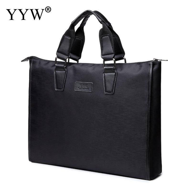 YYW New Business Briefcase Laptop Bag Oxford Cloth Multifunction Waterproof Handbags Business Portfolios Man Shoulder Travel Bag
