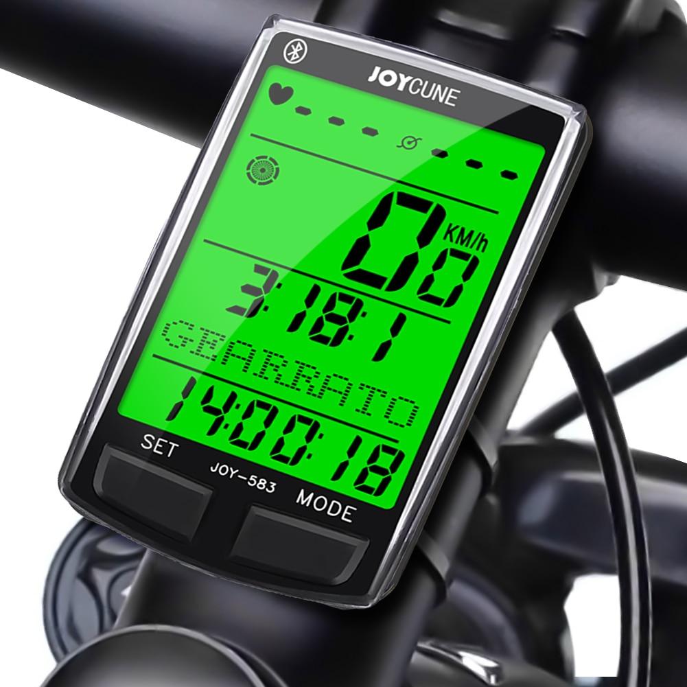 JOY-583BT sans fil Bluetooth ordinateur de vélo étanche compteur de vélo vélo odomètre chronomètre montre compteur de vitesse
