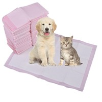 Pet Training Urine Pads Non Woven Five Layer Dog Cat Urinal Pad Super Absorbent Pets Pee