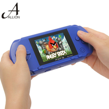 2.7 inch Ultra-Thin Portable Video Game Player Handheld Game 1G Built In Games 16 Bit Digital Pocket System Free Shipping