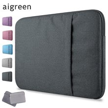 "2019 nueva marca funda aigrén para Laptop 11 "", 13"", 14 "", 15, 15,6 pulgadas, bolsa para Macbook Air Pro 13,3"", 15,4 "", envío gratuito(China)"