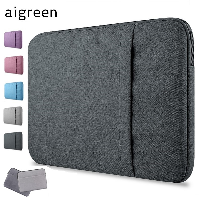 2019 New Brand aigreen Sleeve Case For Laptop 11,13,14,15,15.6 inch,Bag For Macbook Air Pro 13.3,15.4,Free Drop Shipping
