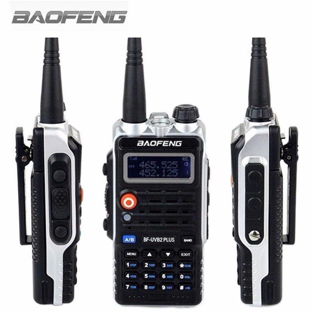 Baofeng Walkie Talkie BF-UVB2PLUS VHF/UHF Dual Band DCS Ham Two Way Transceiver