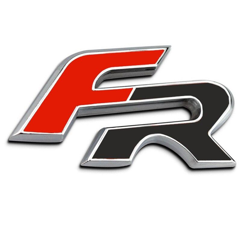 3D Metal Car Stickers For FR E...