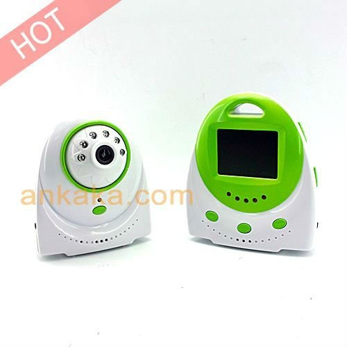 Wireless Baby Monitor with Night Vision and Temperature Alarm