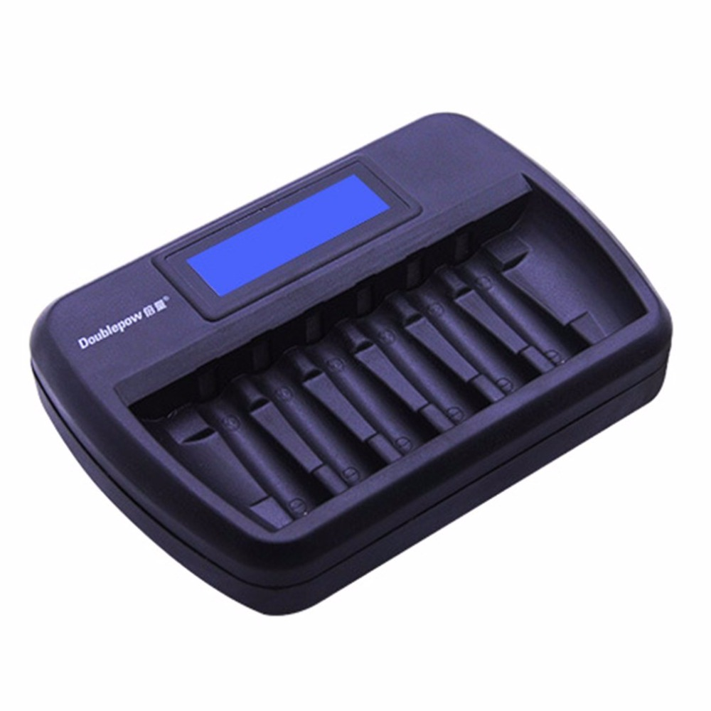 Image 4 - Doublepow Multifunctional Universal 6 Slots LCD AA AAA Rechargebale Battery Charger Automatic Intelligent Rapid Charger-in Chargers from Consumer Electronics