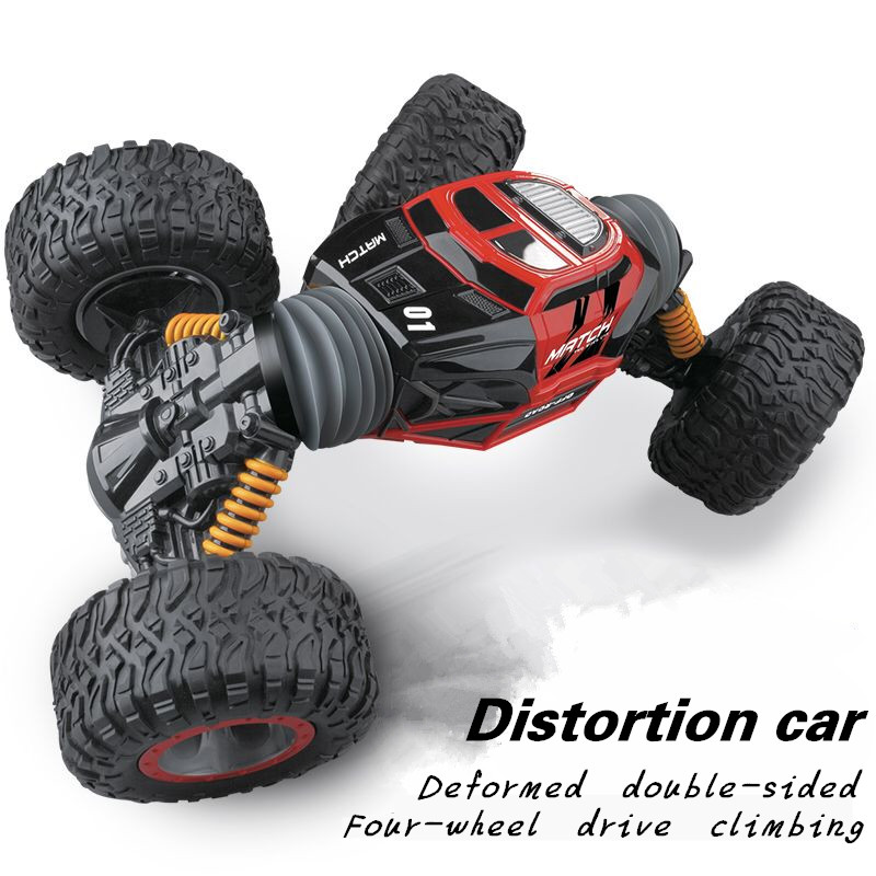 RC Car 4WD Truck Scale Double-sided 2.4GHz  One Key Transformation All-terrain Vehicle Varanid Climbing Car Remote Control Toys inov 8 сумка all terrain kitbag black