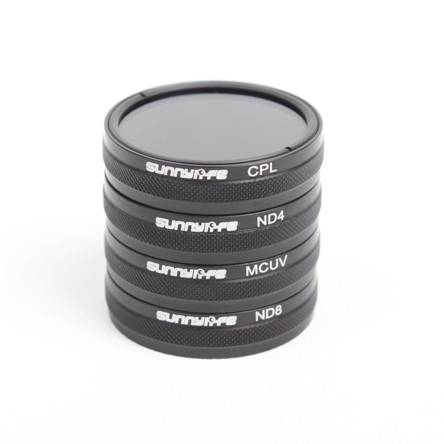 Lens Filter For DJI Phantom 3 4 CPL/ND4/ND8/MCUV Standard/ Advanced DJI Phantom 3 Pro Phantom 4