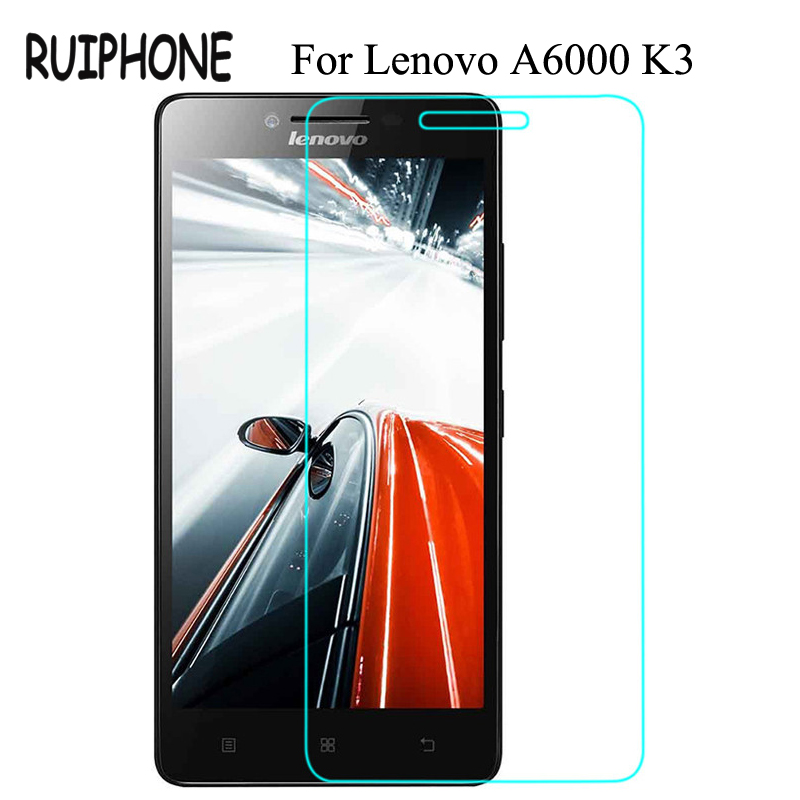 For Lenovo Lemon A6000 6010 Tempered Glass Screen Protector 0.26MM 9H 2.5D Safety Protective Film On A6010 A6000-l A 6000 Plus