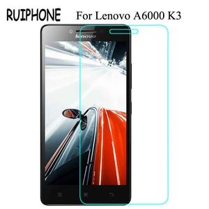 Image 1 - עבור Lenovo לימון A6000 6010 מזג זכוכית מסך מגן 0.26MM 9H 2.5D בטיחות מגן סרט על A6010 A6000 l 6000 בתוספת