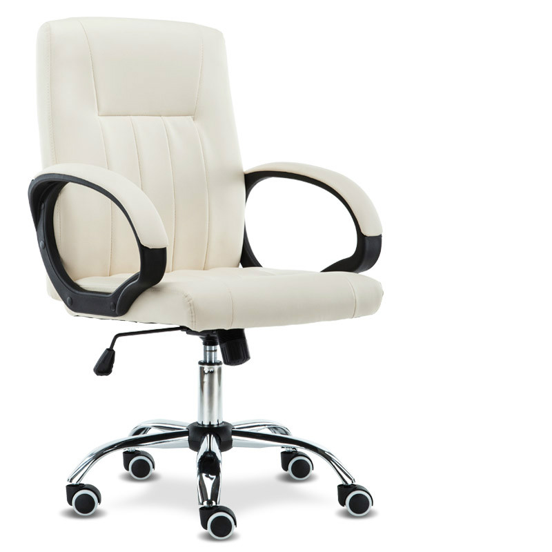 High Quality Swivel Staff Office Chair Adjustable Computer Chair Lifting Simple Design PU cadeira bureaustoel ergonomisch ergonomic executive office chair mesh computer chair high elastic cushion bureaustoel ergonomisch sedie ufficio cadeira