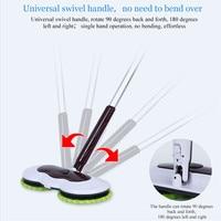 Mops Floor Cleaning Mop Easy Mops Bucket Dust Mop Magic & Easy & Microfiber Electric Broom Rotating Superfine Fiber Mop
