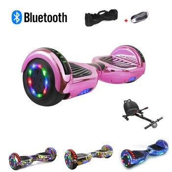 6,5 pulgadas rueda de equilibrio inteligente Hoverboard Skateboard scooter Eléctrico Drift Self para mantener el equilibrio de pie Scooter Hoverboard
