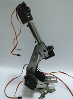 Hello Maker H675 ABB Industrial Robot Mechanical Arm 100% Alloy Six degrees of freedom Robot Arm Rack with 6 Servos