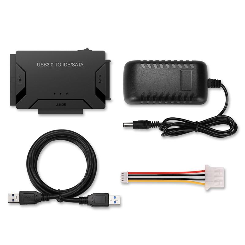 USB 3.0 to SATA IDE ATAデータアダプタ3 in 1 - コンピュータケーブルとコネクタ - 写真 5