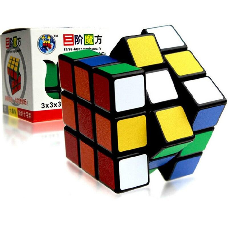 ShengShou pista 58mm cubo mágico de alta calidad mate colorido pegatina rompecabezas cubo Velocidad suave competición Neo cubo clásico Juguetes