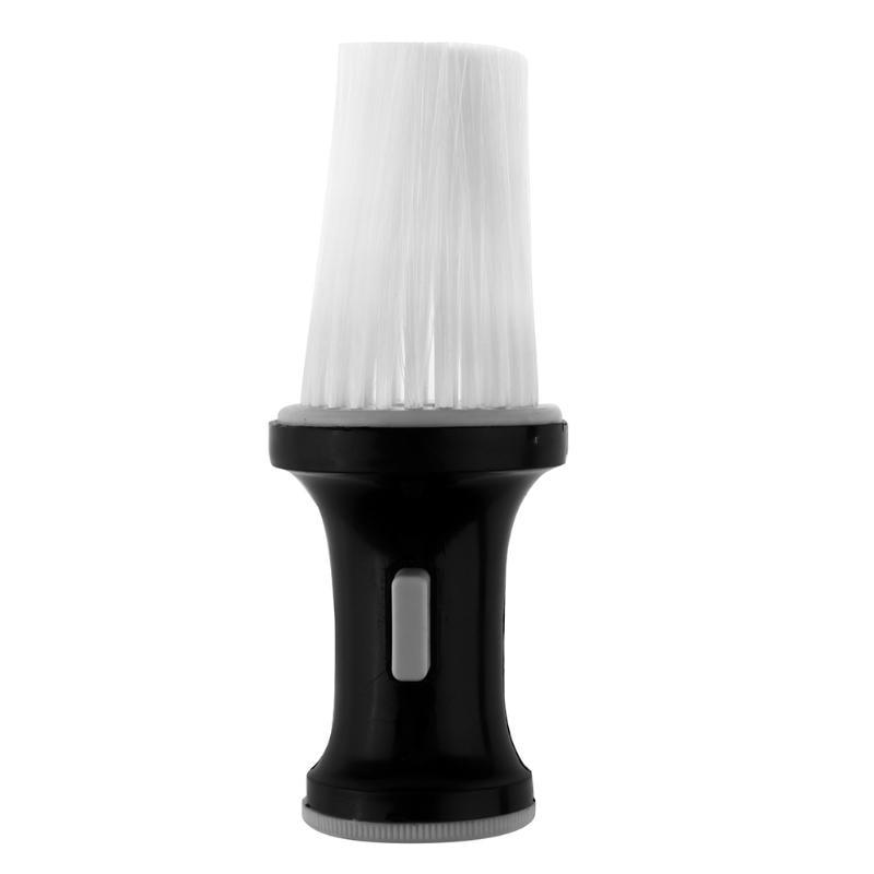 Salon Hair Cutting Shaving Brush Nylon Neck Dust Cleaning Brushes Hair Sweeper Hairbrush Cleaner Plastic Handle Barber Tool
