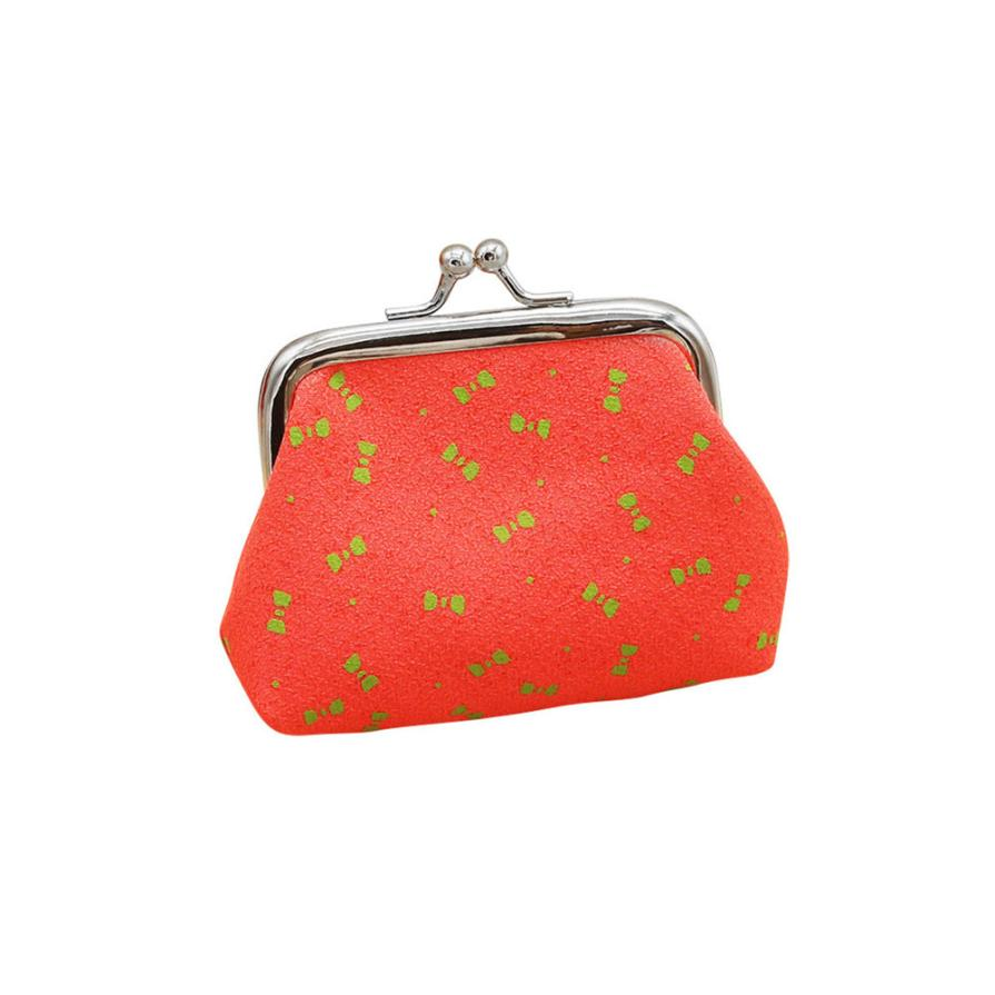 Women's Coin Purses Lady Polyester Bowknot Pattern Hasp Small Wallet Change Pouch Key Card Holder Clutch Handbag Wholesale LP casual weaving design card holder handbag hasp wallet for women