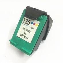 For HP 135 Ink Cartridge DeskJet 6840 5740 Photosmart 2710 2610 325 PSC 2355