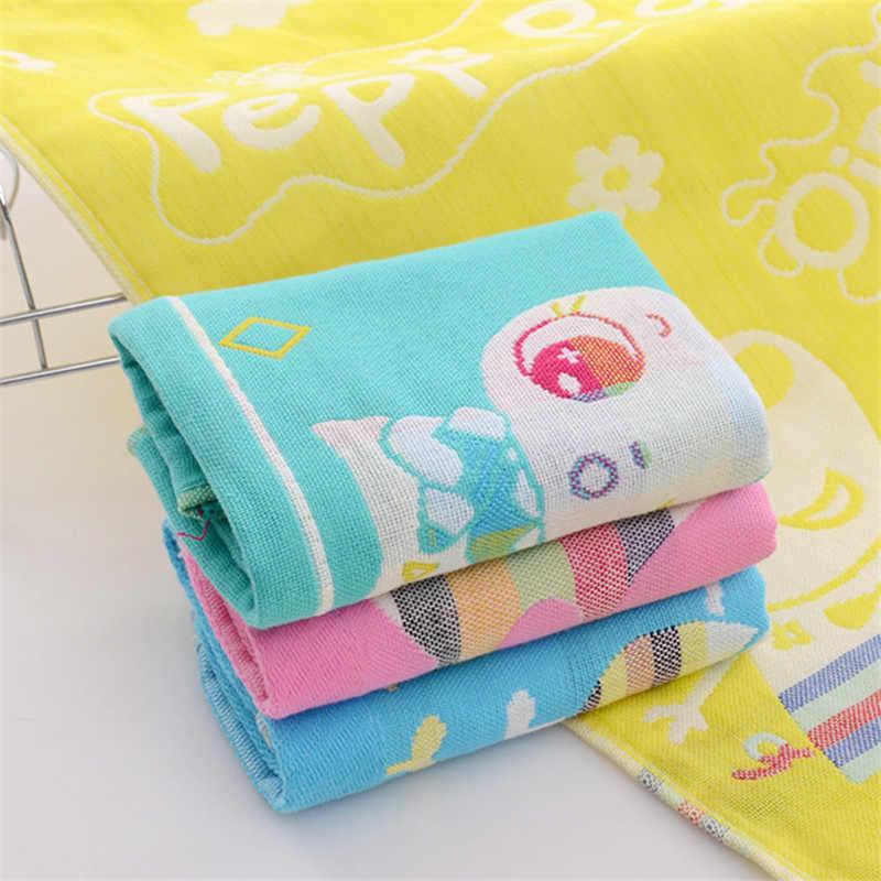 27x50 cm Três camadas de algodão toalha criança Toalha de Mão por atacado Casa limpeza de Rosto para Toalha de Banho do bebê para Crianças de Alta Qualidade conjunto