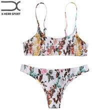 Envío En Compra Disfruta Bikinis Smocked Gratuito Floral Del Y wOPXn08k