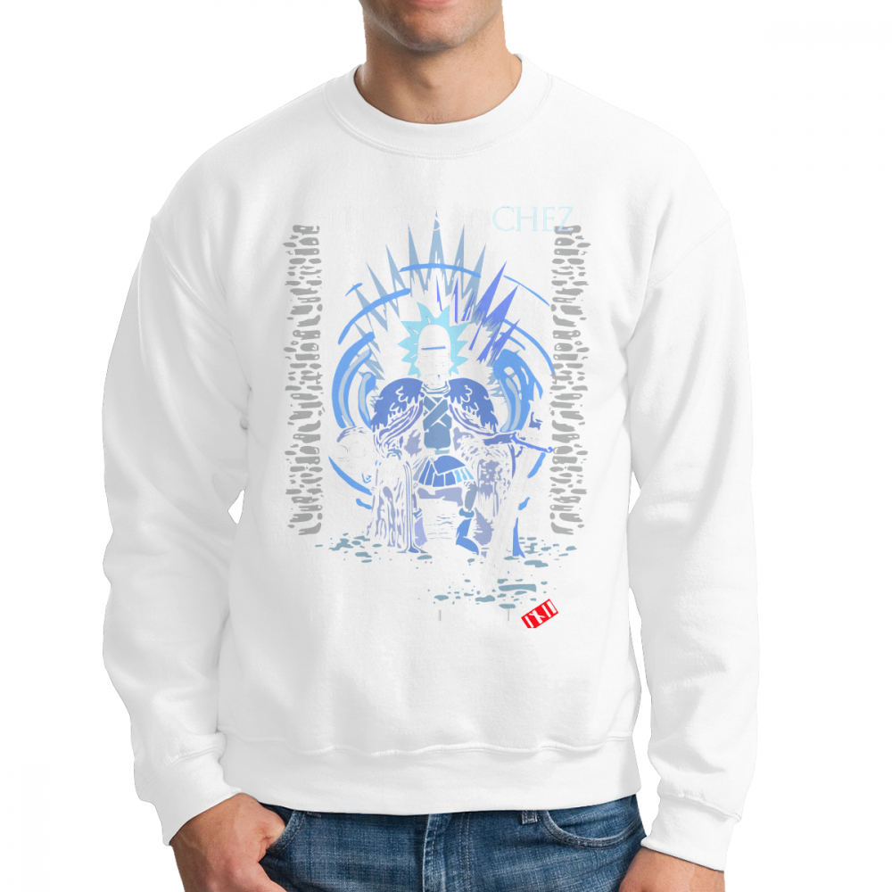 Rick And Morty Game Of Thrones Sweatshirts House Sanchez Men Pullover Pure Cotton Hipster Crewneck Clothing New Hoodie in Hoodies amp Sweatshirts from Men 39 s Clothing