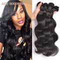 Brazilian Body Wave 4pcs,Brazilian Virgin Hair Remy Human Hair Bundles Unprocessed Virgin Brazilian Hair Weave