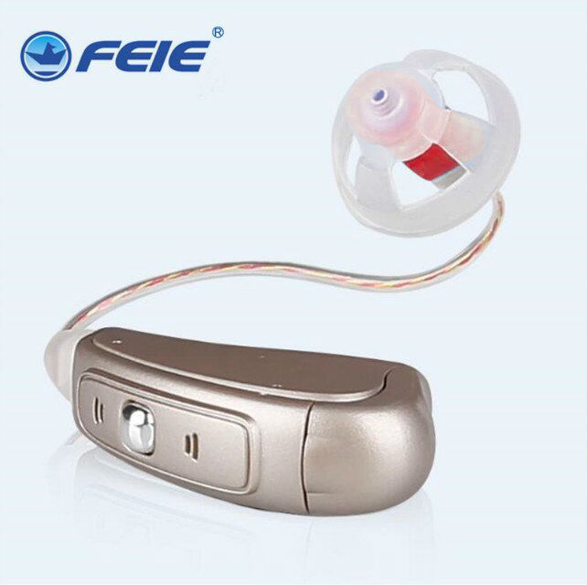 Rechargeable Hearing Aid BTE Hearing Aids for the elderly deaf old Ear hearing device better value than SIEMENS Hearing AidMY-19 bte hearing aid mini sound amplifier hearing aids ear aid gift elderly product elderly better than siemens hearing aid my 13
