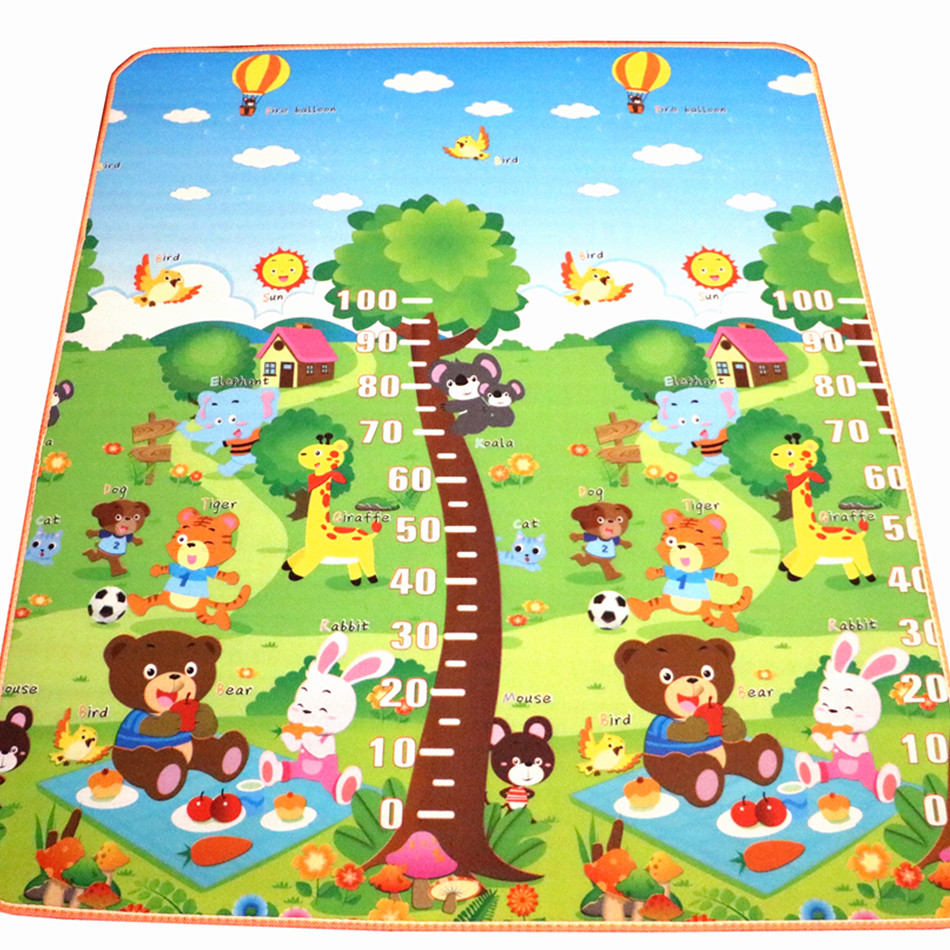 New Arrive 10 Mm Thickness Double Sides Children Play Mat