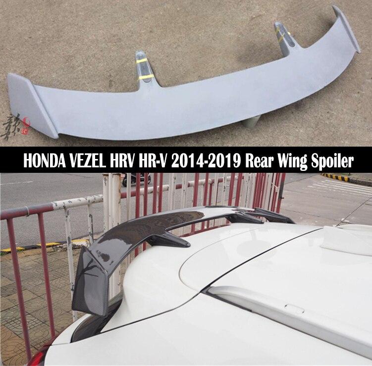 REAR SPOILERS WINGS CENTER FIT FOR HONDA HR-V HRV 2014 2015 2016 COLOR PAINT