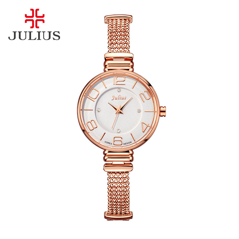 2015 New Julius Lady Women s Wrist Watch Quartz Hours Best Fashion Dress Jewelry Bracelet Office
