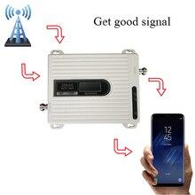 2g 4g amplificador do impulsionador de sinal gsm dcs repetidor de sinal 900 mhz gsm amplificador de sinal 1800 mhz, antena não está incluído