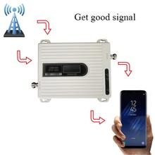 Amplificateur 900 mhz de signal du propulseur 1800 mhz de signal de GSM DCS de propulseur de signal de 2g 4G, antenne nest pas incluse