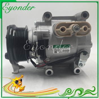 AC A/C Compressor de Ar Condicionado Bomba De Refrigeração PV6 para MAZDA DEMIO DY 1.25 1.4 1.6 DE9416450 DE916450A 4 ESTAÇÕES 78576 1406108